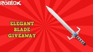 HOW TO GET A FREE ELEGANT BLADE! *INSANE GIVEAWAY* (ROBLOX ASSASSIN THANK YOU FOR 1000 SUBS!)