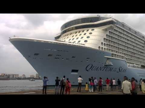 Quantum of seas in ernakulam wharf willingdon island