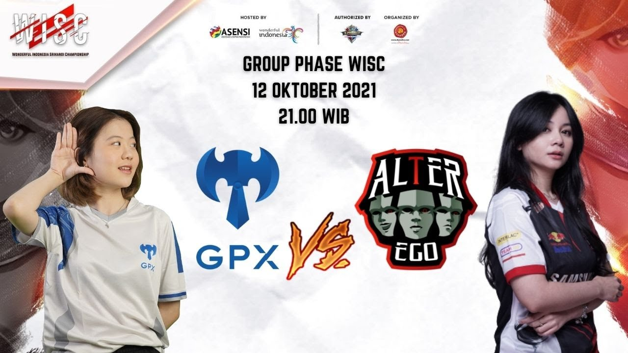 Download WISC Group Phase Day 6 : GPX Ladies vs Alter Ego Nyx