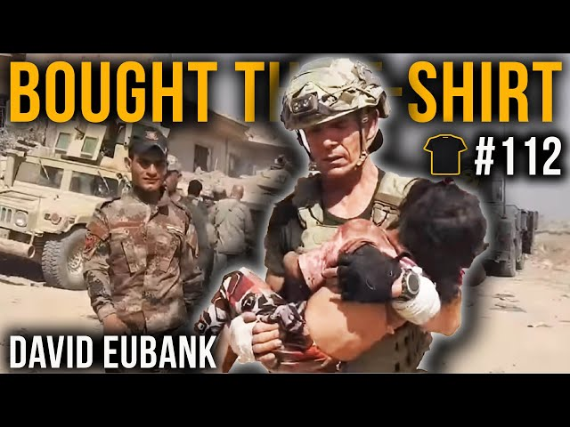 US Special Forces Green Beret | David Eubank | Chris Thrall's Bought The T-Shirt Podcast