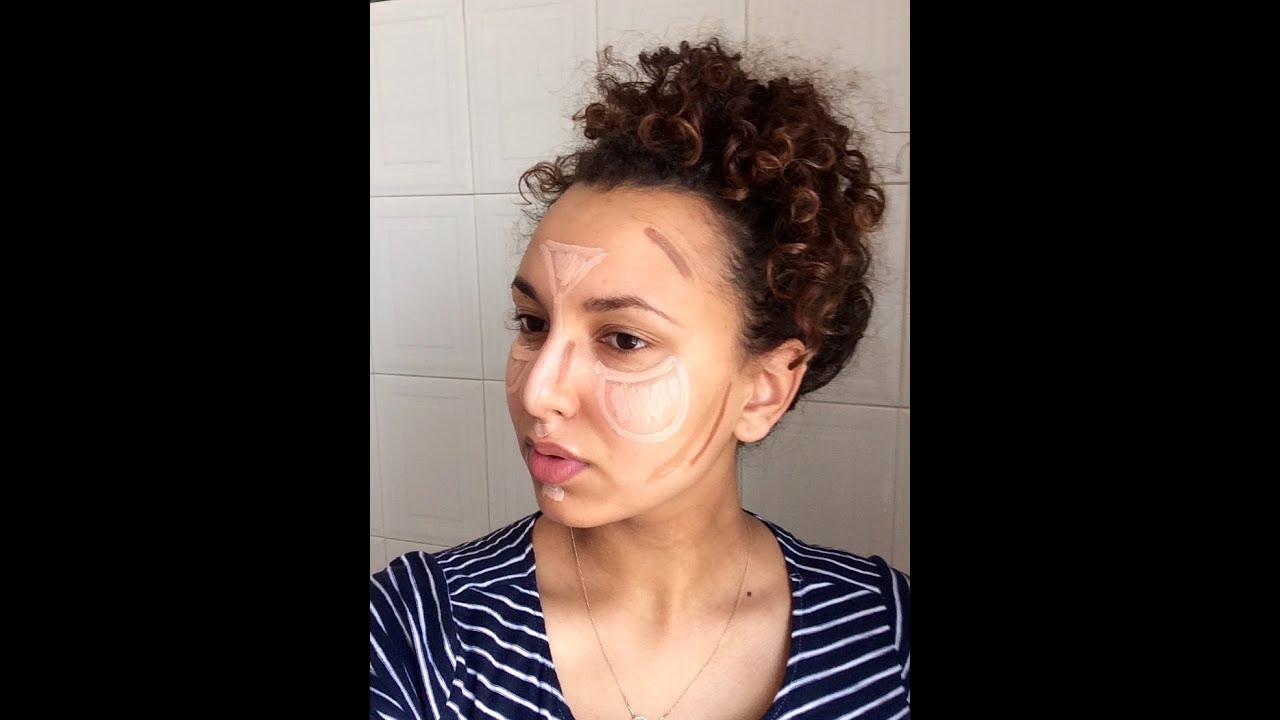 Everyday Highlight And Contour Mixed Race Skin YouTube