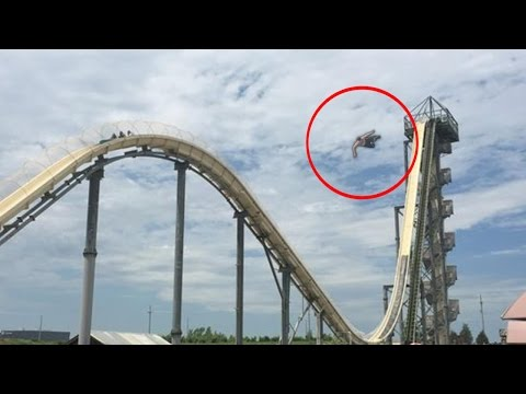 TOP 5 WATER SLIDE ACCIDENTS ( Theme Park Injuries )