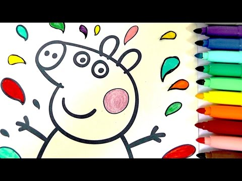 HOW TO BASIC - Colour Paw Patrol MARSHALL Crayola Color Wonder Mess ...
