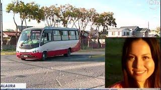 Chofer habría visto a Laura Landeros la mañana de su desaparición - La Mañana