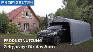 Zeltgarage für Autos | Profizelt24