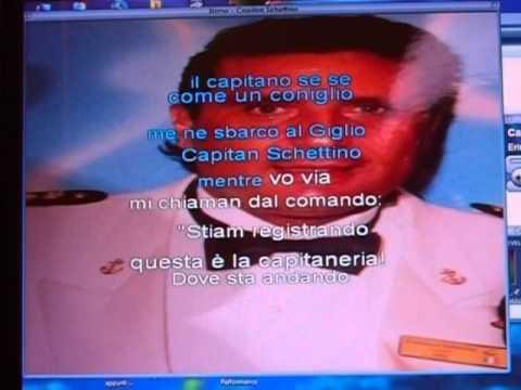 Parodia Canzone del Capitan Schettino
