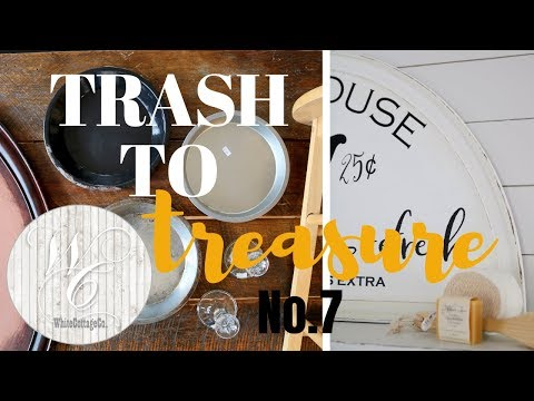 Trash to Treasure Episode 7 ~ Farmhouse Style Decor ~  Home Decor Makeovers