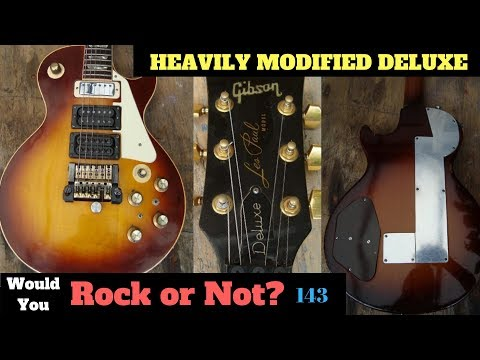 WARNING: YOU CAN'T UNSEE THIS! | Heavily Modified 70s Gibson Les Paul Deluxe | WYRON 143