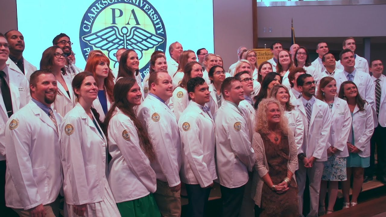Physician Assistant Stu s White Coat Ceremony 2015 at Clarkson