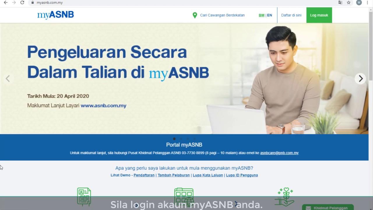 Cara Buat Pengeluaran Asb Online 2020 Myrujukan