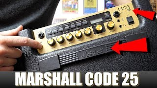 Marshall CODE 25 Modelling Amplifier Review - it it Good?