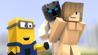 PopularMMOs Pat and Jen Minecraft  OUTCAST SEX CHALLENGE GAMES   Lucky Block Mod   Modded Mini Game