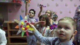 Праздник Весны в детском клубе