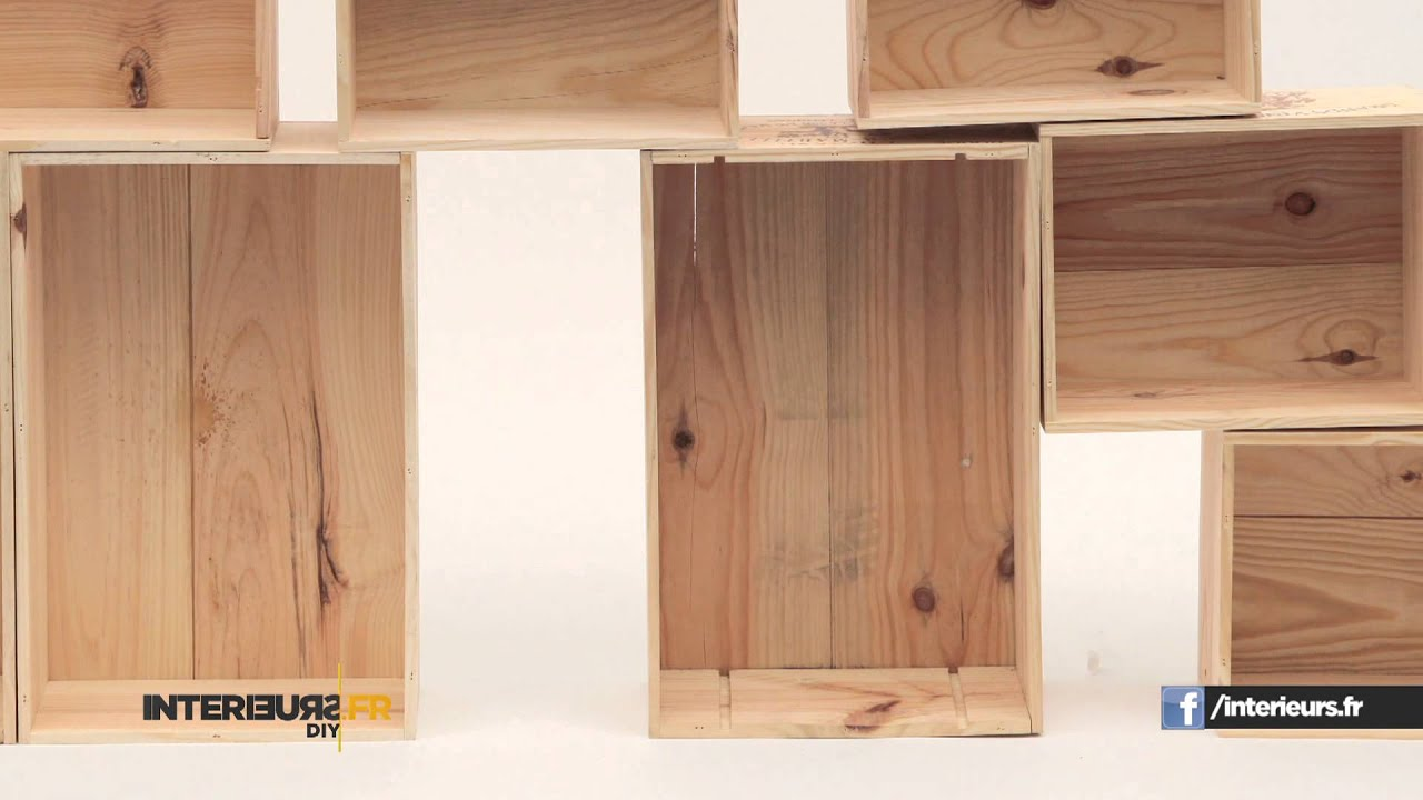 Diy comment fabriquer vos tag res youtube - Model de bibliotheque en bois ...