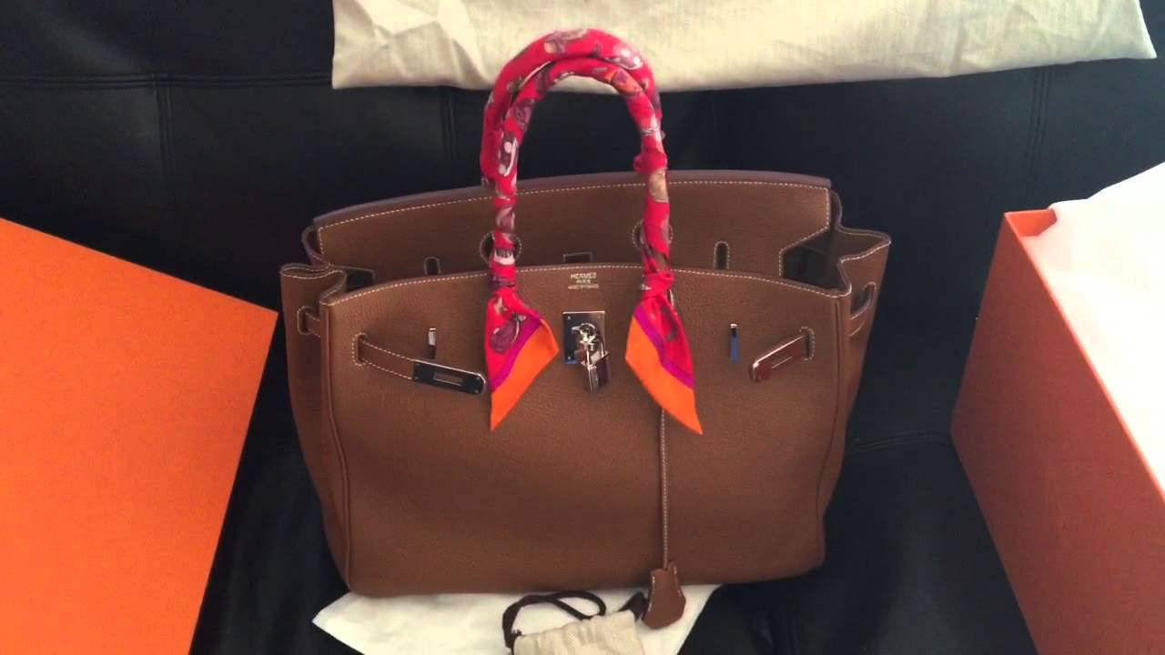 a5626560f508 My Hermes Birkin 35 Story - YouTube