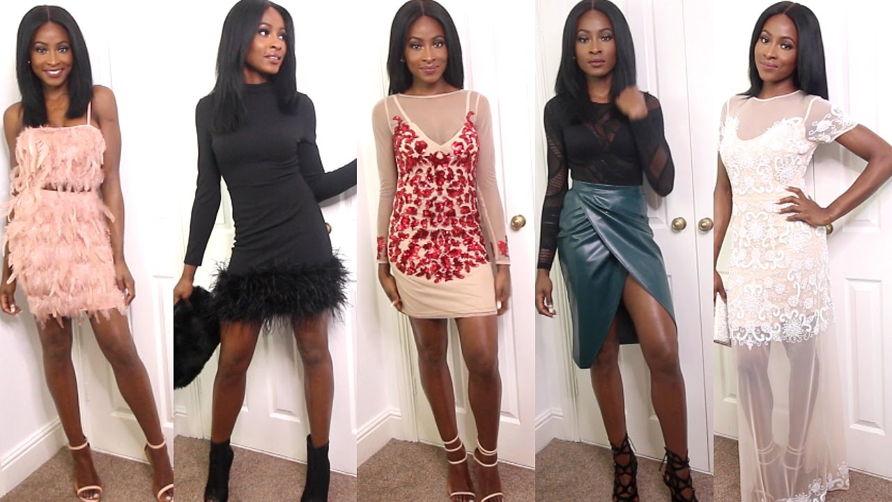 missguided christmas party outfit ideas ad youtube