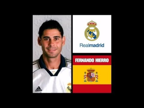 PES2018 FERNANDO HIERRO REAL MADRID CLÁSICO,CLASSIC,CREE CARA JUGADOR , CREATE FACE PLAYER