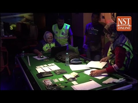 Police Stagg team smash KL gambling den with VIP features