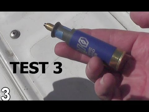 Viewer Sends us some WACKY Shotgun Slug -You make- We shoot it!