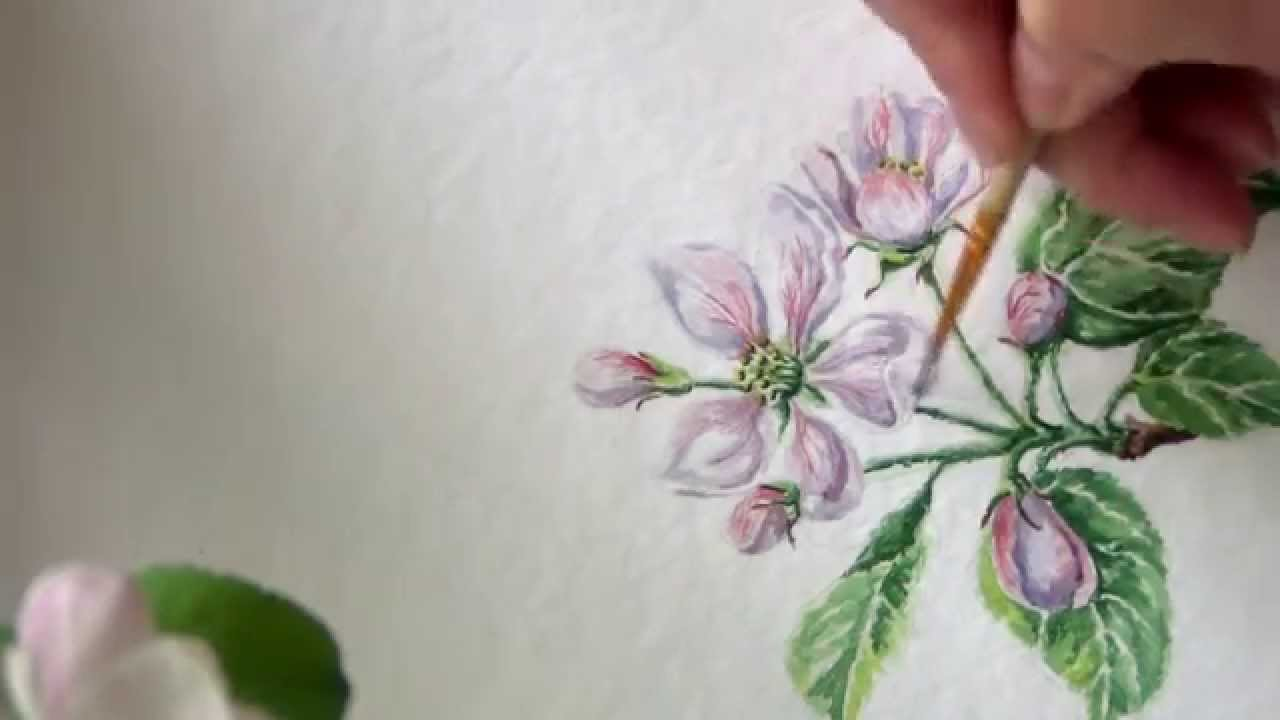 how to draw watercolor painting