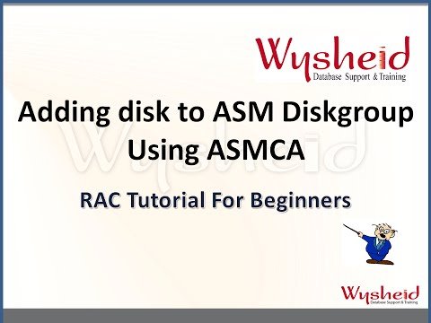 Adding disk to an ASM disk group | How to add a disk to ASM diskgroup in Oracle | Add disk to asm