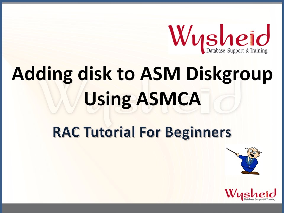 oracle 11gr2 asm part 4 video 1080p