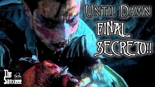 UNTIL DAWN FINAL SECRETO JOSH WENDIGO | SALVAR A TODOS EASTER EGG