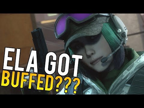 Ela Got BUFFED??? - Rainbow Six Siege