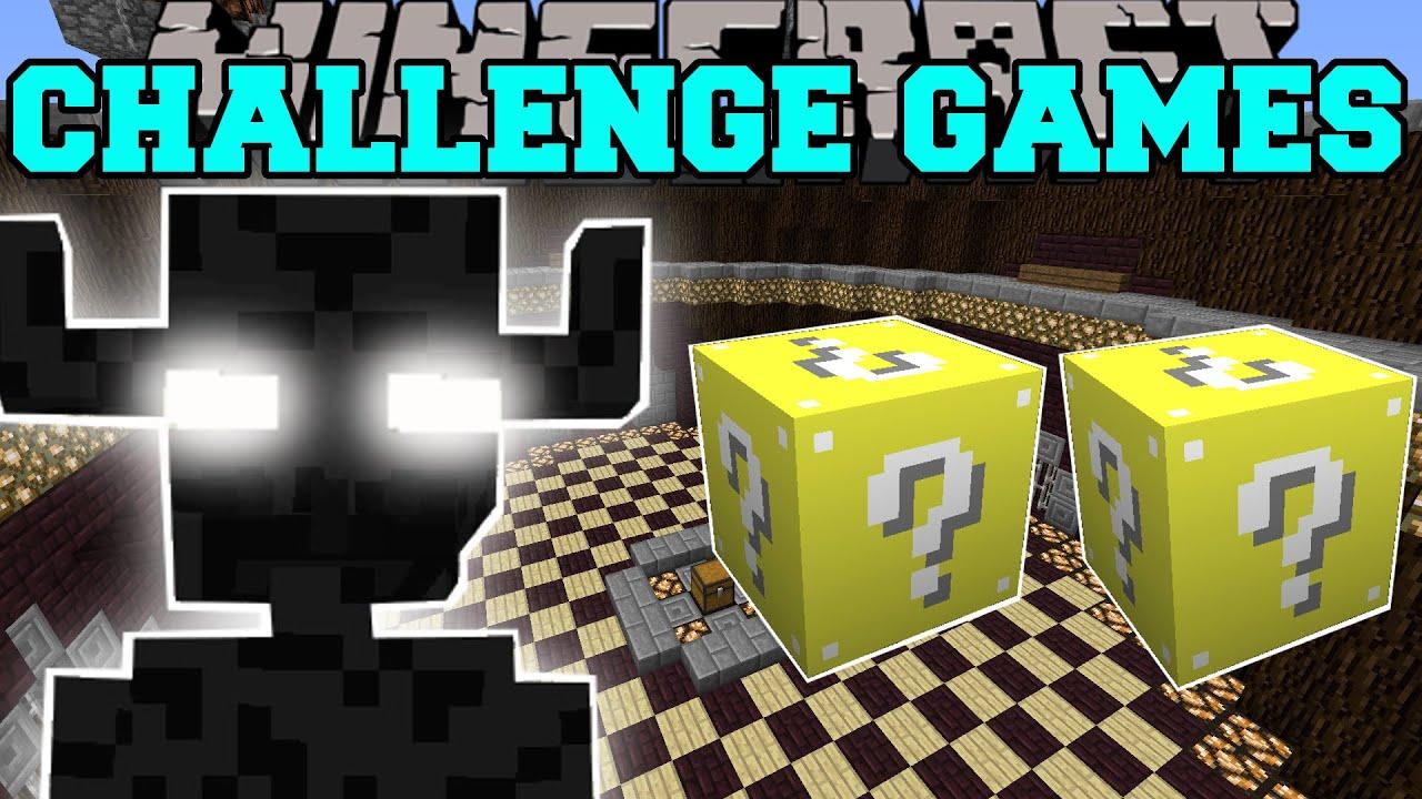 Download Minecraft: ENDER GOLEM CHALLENGE GAMES - Lucky Block Mod - Modded Mini-Game