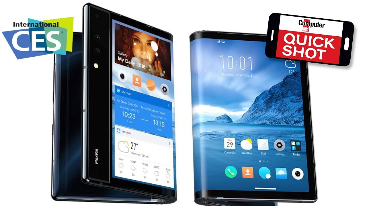 Flexibles Smartphone-Display.Tablet oder Handy?