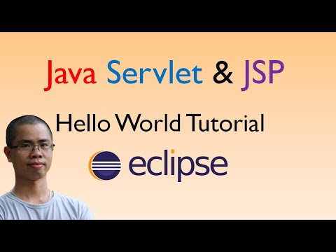 Java Servlet and JSP Hello World Tutorial with Eclipse, Maven and Apache Tomcat