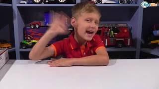 Игровой Конструктор. Распаковка Гоночной Машины на радиоуправлении от Игорька - Видео для детей