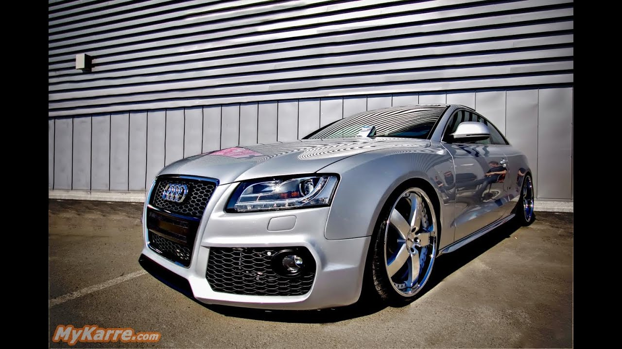 audi a5 tuning youtube. Black Bedroom Furniture Sets. Home Design Ideas