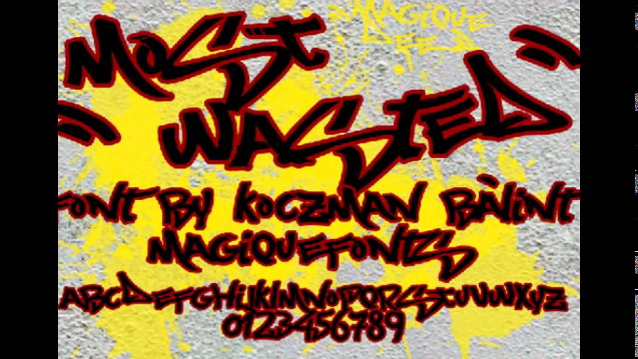 43 font graffiti free download