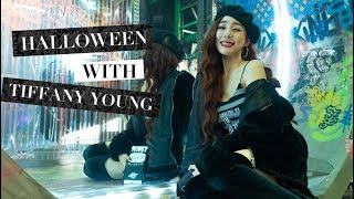Happy Halloween from Tiffany Young!