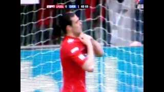 Liverpool vs Everton - FA Cup 2012 Andy Carroll Miss