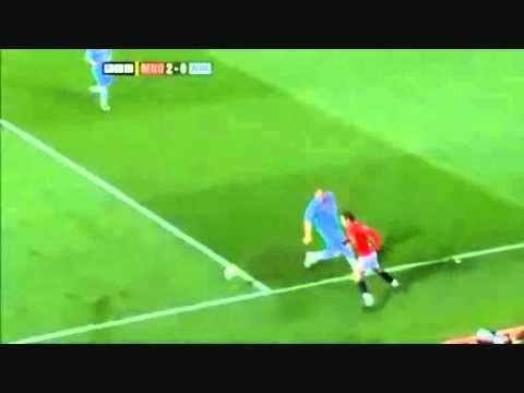 Berbatov skill against West Ham