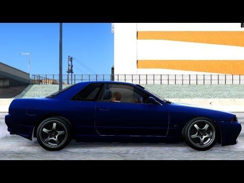 GTA San Andreas - Nissan Skyline R32 Tunable EnRoMovies