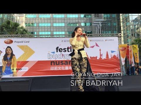 Goyang Dua Jari Live konser di Taiwan Siti Badriyah