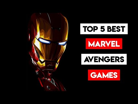 [OFFLINE/ONLINE] TOP 5 HIGH GRAPHIC MARVEL AVENGER GAMES FOR ANDROID IN HINDI 2020