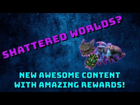 New Update? Shattered Worlds! [Runescape 3] Amazing new minigame!
