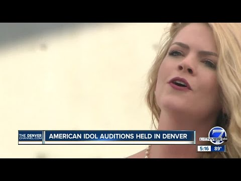 'American Idol' tour bus stops in Denver in search of new talent