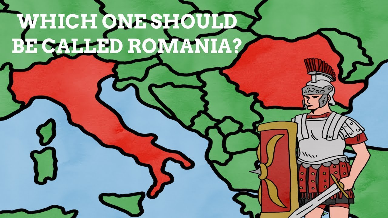 Why Isn\'t Italy Named Romania After The Romans? - YouTube