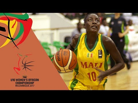 Mali v Mozambique - Full Game - Semi-Final - FIBA U16 Women's African Championship