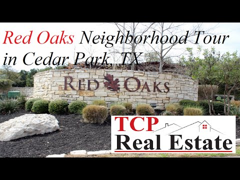Red Oaks Neighborhood Tour in Cedar Park, TX - TCP Real Estate