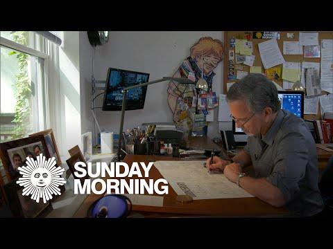 """""""Doonesbury"""" cartoonist Garry Trudeau"""