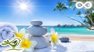 A Good Day - Peaceful Music & Water Sounds - Spa Music, Zen Music, Calm Harp Music