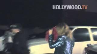 Nicole Richie and Joel Madden Leaving Matsuhisa
