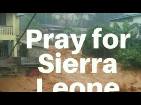 Flood In Freetown Sierra Leone - Mudslide
