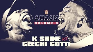 K-SHINE VS GEECHI GOTTI RAP BATTLE - BONUS FOOTAGE | URLTV